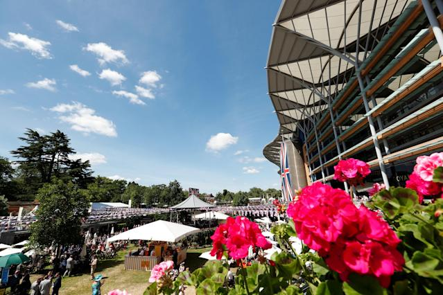 Horse Racing - Royal Ascot - Ascot Racecourse, Ascot, Britain - June 21, 2018 General view before the start Action Images via Reuters/Andrew Boyers