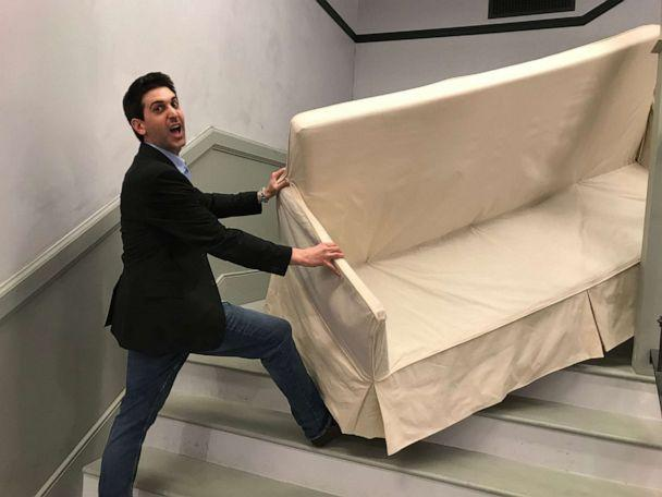 PHOTO: A 'Friends' pop-up is open until Oct. 6, 2019, in New York City featuring props and replicas of the original show set. (ABC News)