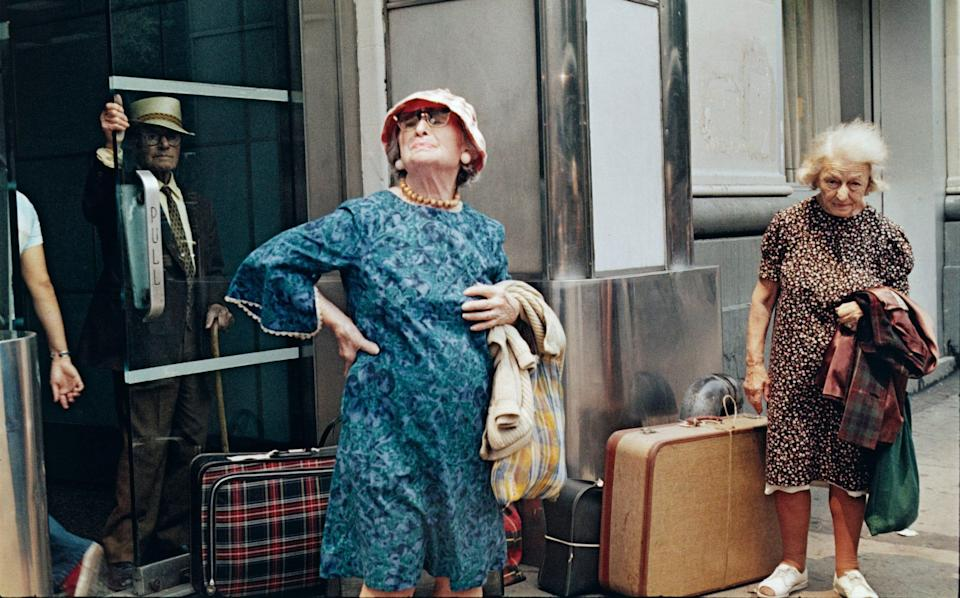 New York, 1973, by Helen Levitt, at the Photographer's Gallery - Imaging Services, MoMA, N.Y.