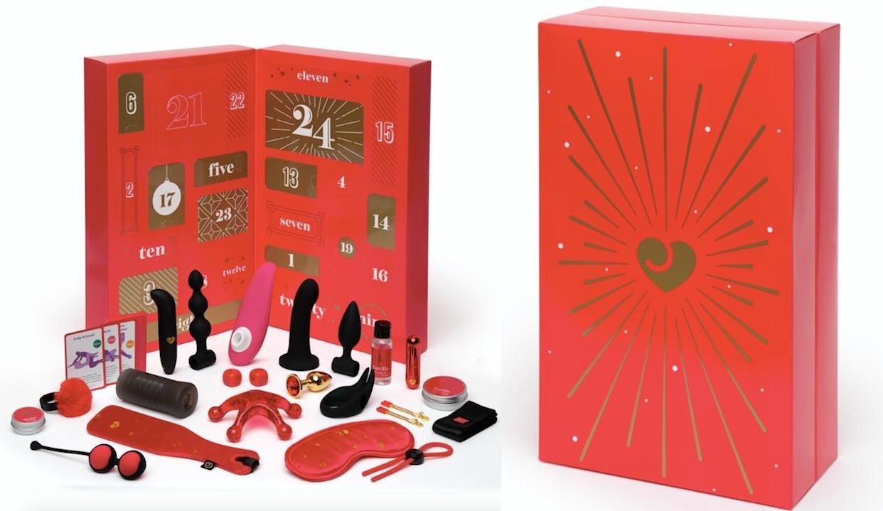 Fancy spicing up the Christmas countdown this year? The Lovehoney sex toy advent calendar has dropped. (Lovehoney)