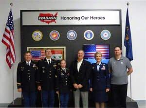 Wabash National Corporation Honors Associates at Second Annual Military Appreciation Event