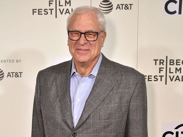 Phil Jackson, this spring. (Getty Images)