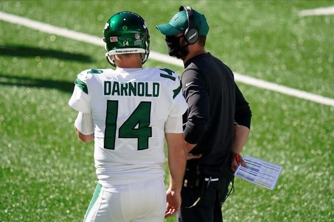 Jets' ugly 0-3 start has Gase, Darnold searching for answers