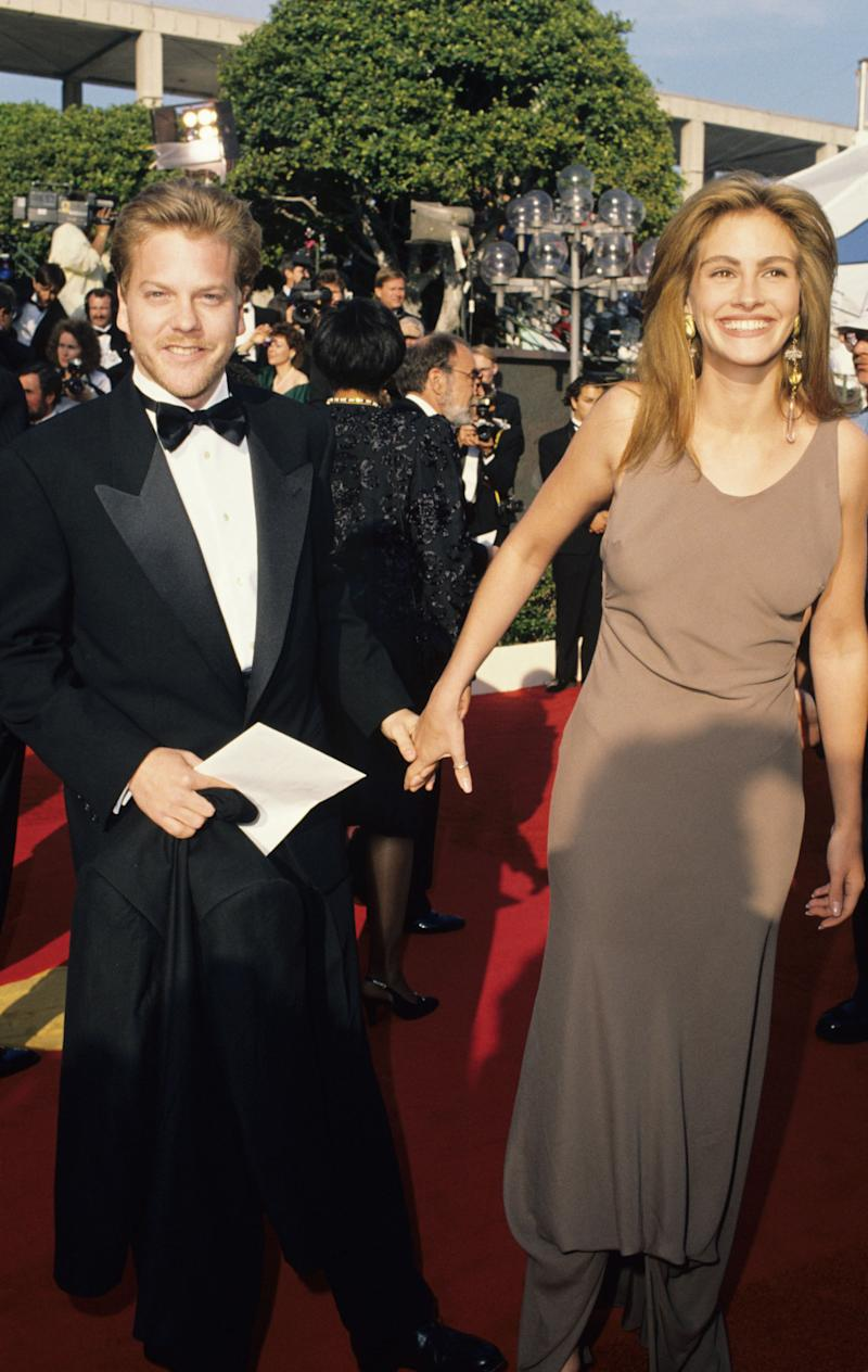 A Look Back to When Julia Roberts Called Off Her Wedding to Kiefer ...