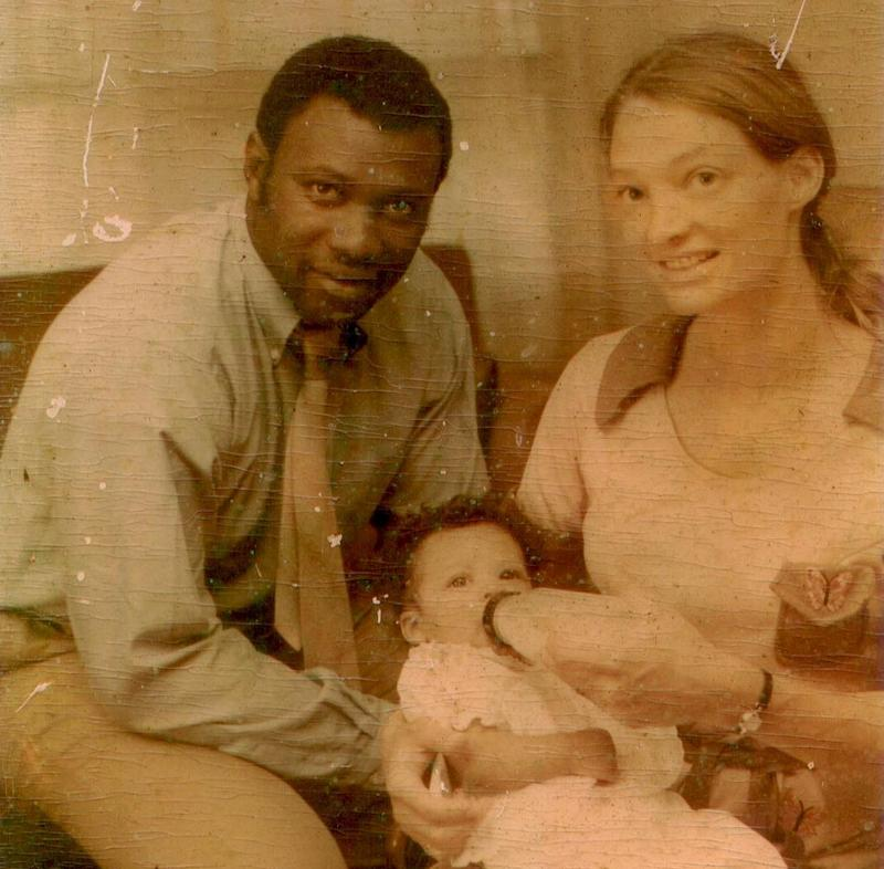 Kim Etheredge, as a baby, with her parents. (Photo: Courtesy Kim Etheredge)