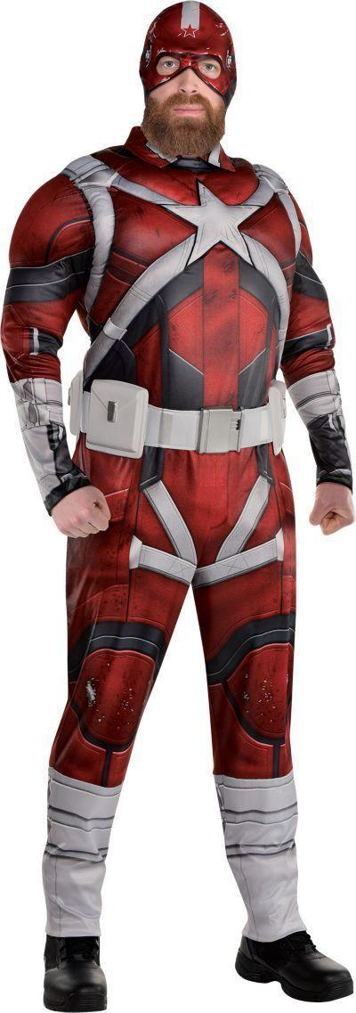 """<p>partycity.com</p><p><strong>$37.49</strong></p><p><a href=""""https://www.partycity.com/adult-red-guardian-costume-plus-size---black-widow-P889441.html?dwvar_P889441_size=Plus&cgid=group-costumes-tv-movie"""" rel=""""nofollow noopener"""" target=""""_blank"""" data-ylk=""""slk:Shop Now"""" class=""""link rapid-noclick-resp"""">Shop Now</a></p><p>This costume requires you to dress as David Harbour dressing as Red Guardian. </p>"""