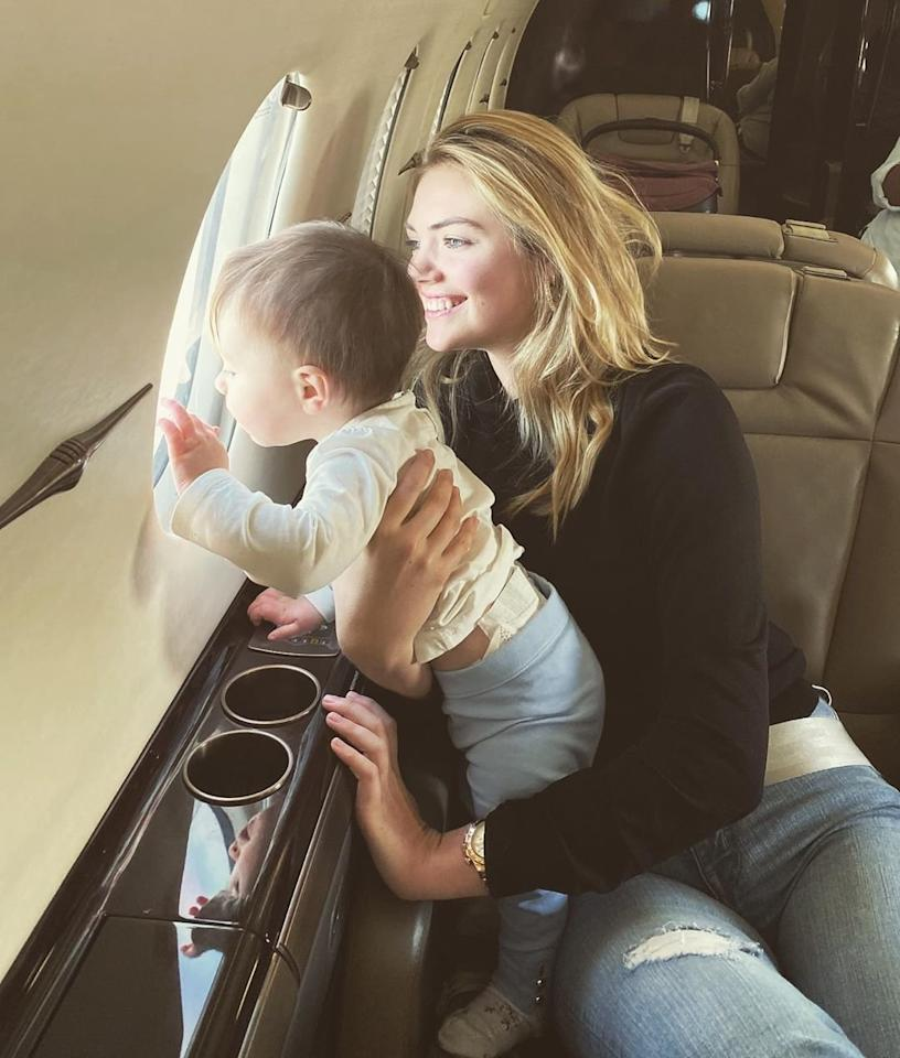 "Kate Upton's baby girl is only one years old and already living the good life, celebrating her <a href=""https://www.instagram.com/p/B4koJZ9DQkr/"">first birthday</a> on a private plane."