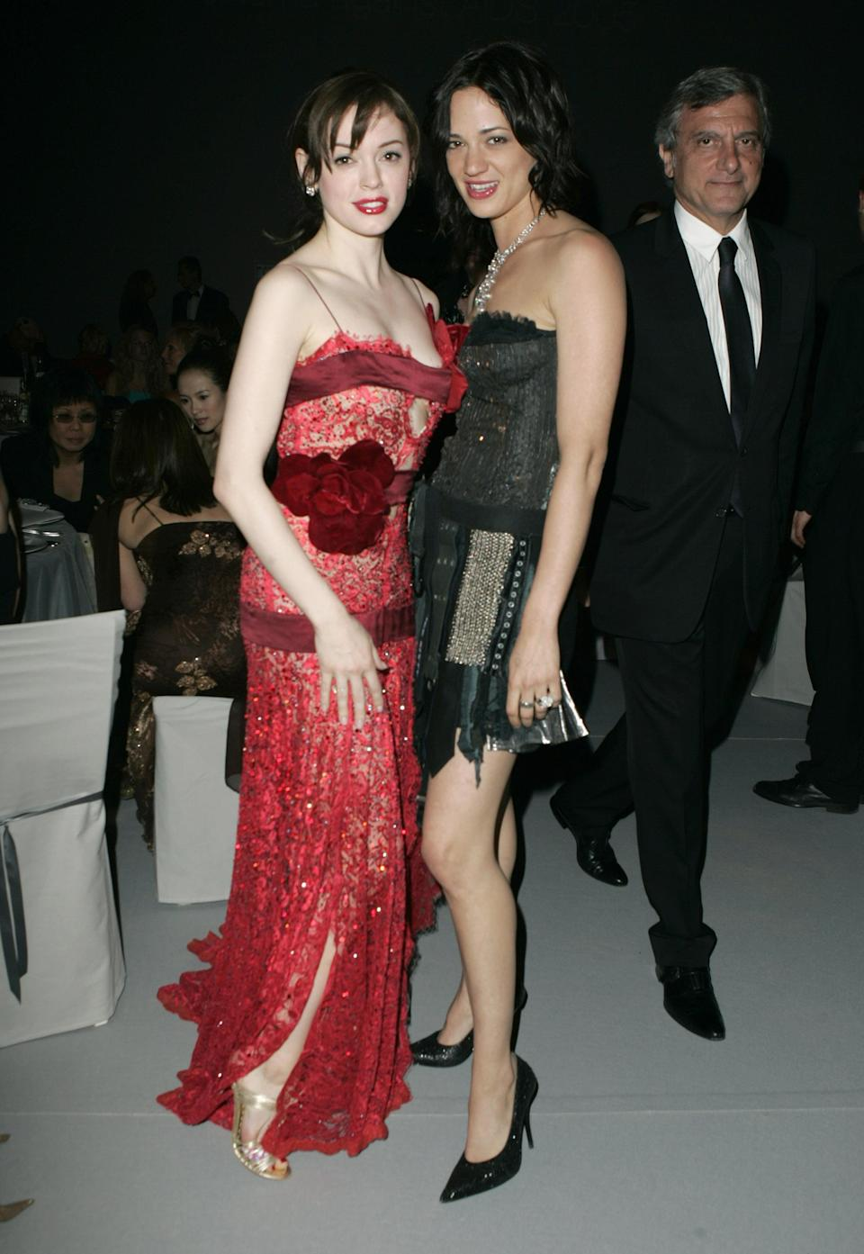 The two actresses and #MeToo allies in 2005. (Photo: J. Vespa/WireImage)