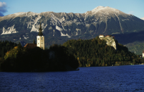 <p>In seventh place, it's Slovenia – famed for the idyllic surroundings of Lake Bled. (Picture:REX) </p>