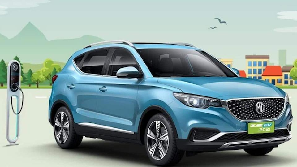 MG ZS EV (2021) SUV launched at Rs. 21 lakh