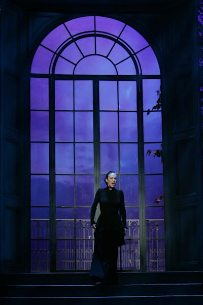 "FILE--In this photo from Saturday, Sept. 18, 2006, Susan Rigvava-Dumas performs the role of Mrs. Danvers during a dress rehearsal for the musical ""Rebecca"" at Vienna's Raimund Theatre. The play's Broadway production in New York collapsed this week, launching a FBI fraud investigation of the circumstances. (AP Photo/Stephan Tirerenberg, File)"