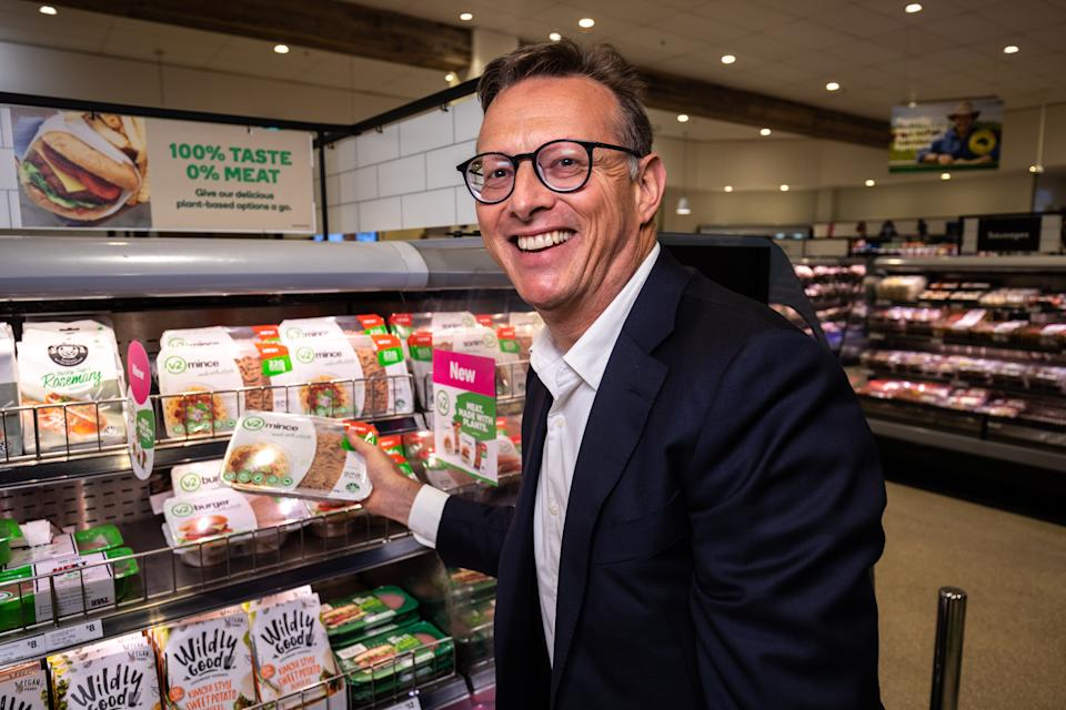 V2food Chief Executive Officer Nick Hazell. (PHOTO: V2food)