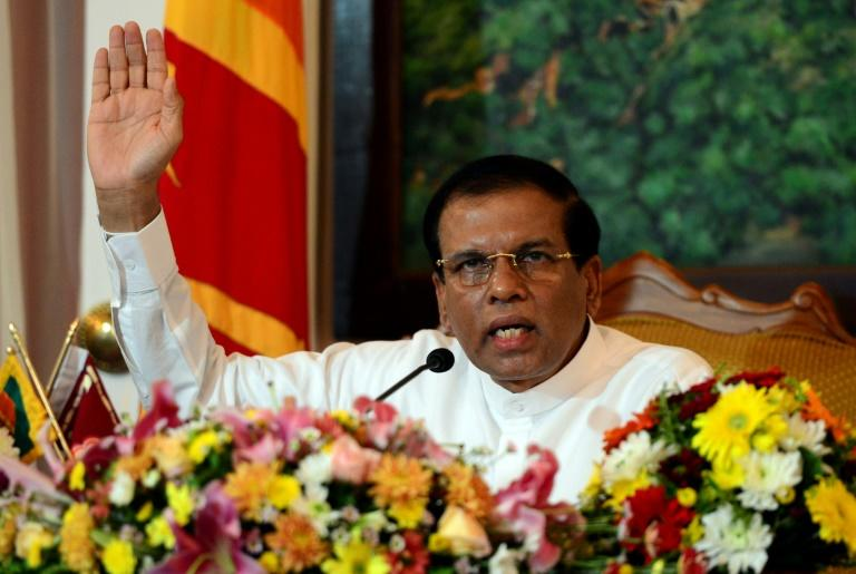 Sri Lanka President Maithripala Sirisena was elected in 2015 after vowing to investigate war-era atrocities