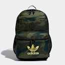 """Camo is meant to blend in, but with this Adidas pack you'll actually stand out. $45, Adidas. <a href=""""https://www.adidas.com/us/trefoil-backpack/EX6754.html"""" rel=""""nofollow noopener"""" target=""""_blank"""" data-ylk=""""slk:Get it now!"""" class=""""link rapid-noclick-resp"""">Get it now!</a>"""