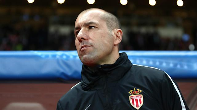 Monaco romped to a 4-1 victory away to Dijon in Sunday's Ligue 1 clash, taking them to a record-equalling 14 league wins in a row.