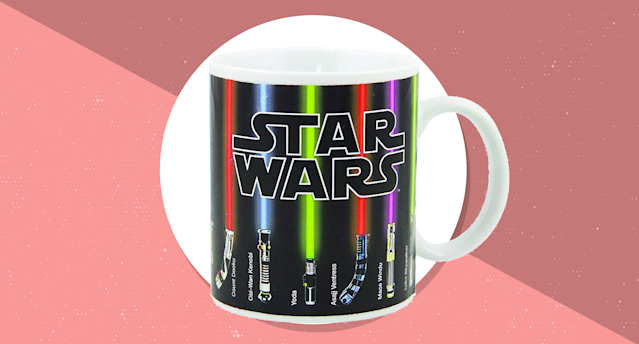 Say good morning with this Star Wars mug. (Photo: Amazon)