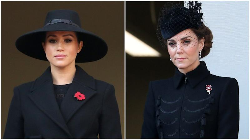 Why Meghan Markle and Kate Middleton Were on Separate Balconies During Festival of Remembrance (Exclusive)