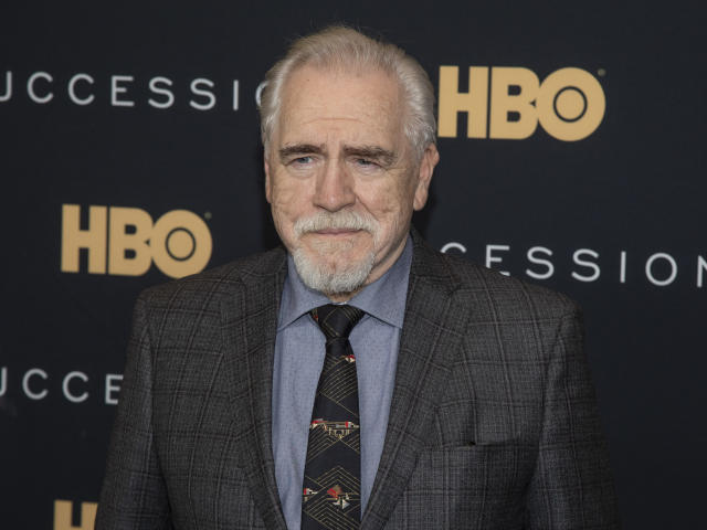 """Brian Cox attends a special screening of HBO's """"Succession"""" at the Time Warner Center on Wednesday, April 17, 2019, in New York. (Photo by Andy Kropa/Invision/AP)"""