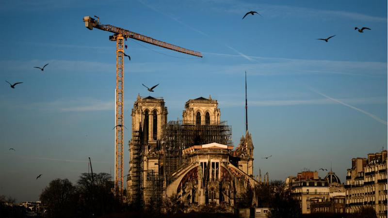 French architects want Notre-Dame Cathedral roof rebuilt in wood