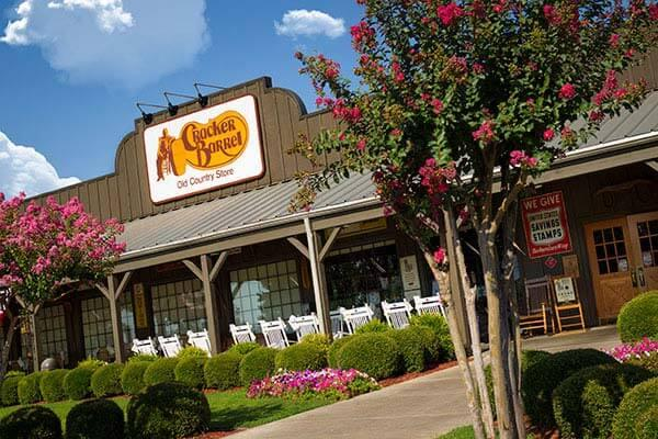 A Cracker Barrel restaurant.