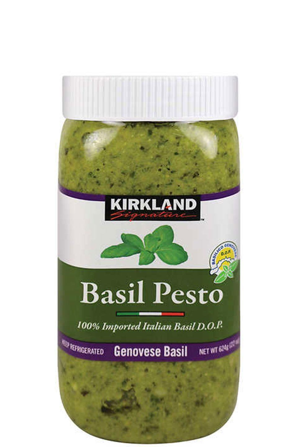 <p>People rave about this monster vat of imported pesto. Can you blame them?</p>