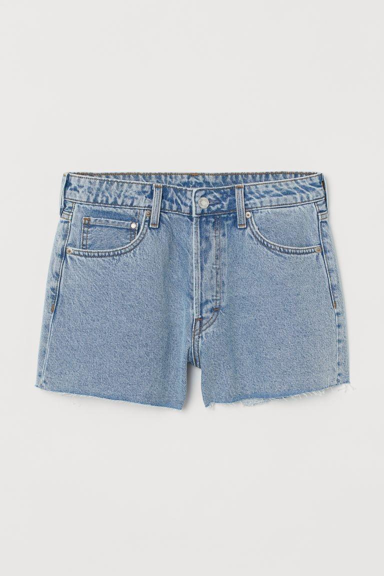 """<p>Everyone needs a classic summer go-to like these <a href=""""https://www.popsugar.com/buy/HampM-Vintage-High-Shorts-570663?p_name=H%26amp%3BM%20Vintage%20High%20Shorts&retailer=www2.hm.com&pid=570663&price=15&evar1=fab%3Aus&evar9=47441761&evar98=https%3A%2F%2Fwww.popsugar.com%2Ffashion%2Fphoto-gallery%2F47441761%2Fimage%2F47441839%2FHM-Vintage-High-Shorts&list1=shopping%2Ch%26m%2Cspring%20fashion%2Cfashion%20shopping%2Caffordable%20shopping&prop13=mobile&pdata=1"""" class=""""link rapid-noclick-resp"""" rel=""""nofollow noopener"""" target=""""_blank"""" data-ylk=""""slk:H&amp;M Vintage High Shorts"""">H&amp;M Vintage High Shorts </a> ($15).</p>"""