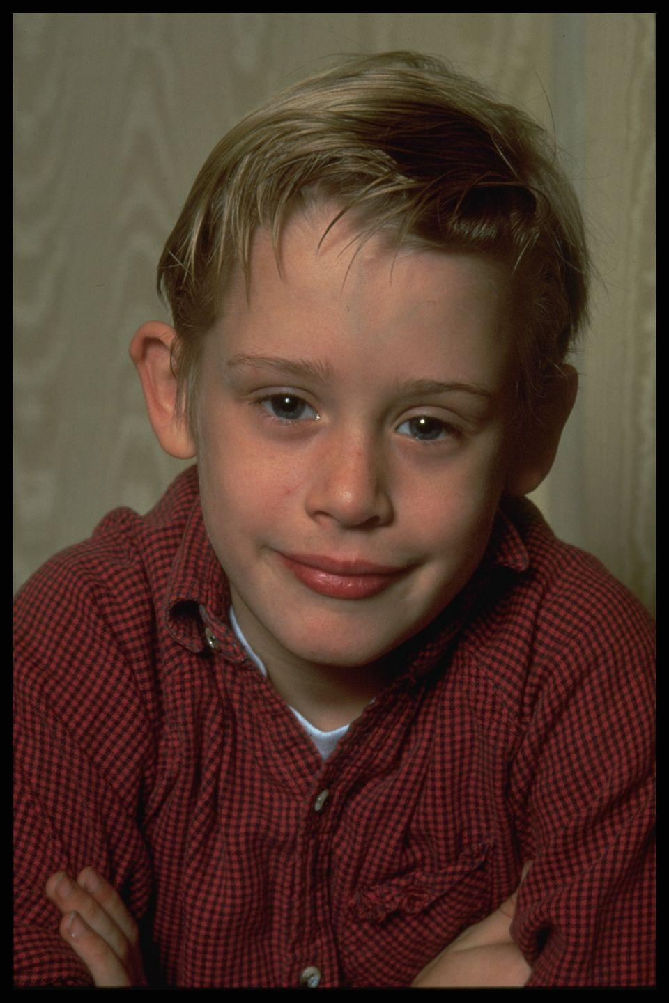 """<p>Macaulay started his acting in off-Broadway shows at the age of 4, winning a part in the movie <em><a href=""""https://www.amazon.com/dp/B001BR5NK8?tag=syn-yahoo-20&ascsubtag=%5Bartid%7C10050.g.24736857%5Bsrc%7Cyahoo-us"""" rel=""""nofollow noopener"""" target=""""_blank"""" data-ylk=""""slk:Uncle Buck"""" class=""""link rapid-noclick-resp"""">Uncle Buck </a></em>a few years later. His next role in the movie, <em><a href=""""https://www.amazon.com/dp/B0031QNMKK?tag=syn-yahoo-20&ascsubtag=%5Bartid%7C10050.g.24736857%5Bsrc%7Cyahoo-us"""" rel=""""nofollow noopener"""" target=""""_blank"""" data-ylk=""""slk:Home Alone"""" class=""""link rapid-noclick-resp"""">Home Alone</a></em>, showcased his baby-faced innocence and comedic timing, and he played in several more popular movies including <em>My Girl </em>and <em>Home Alone 2 </em>before leaving acting<em>. </em></p>"""