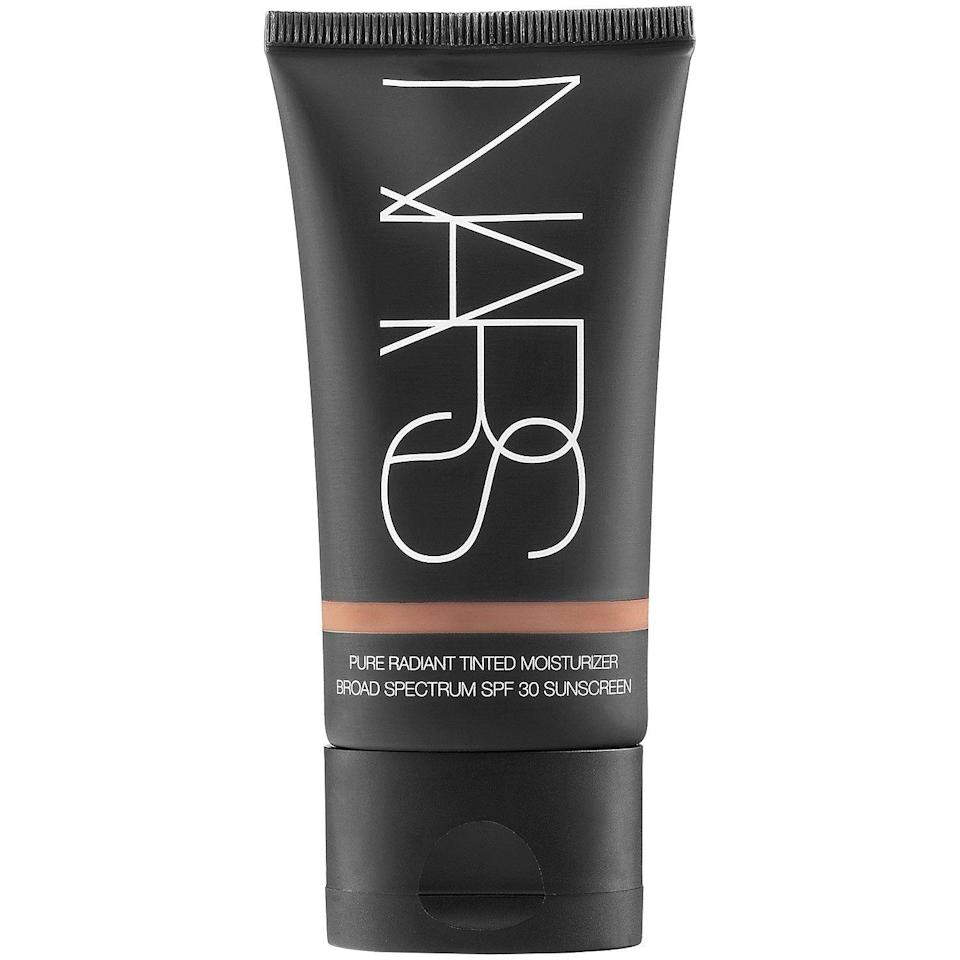 """<p><strong>NARS</strong></p><p>sephora.com</p><p><strong>$45.00</strong></p><p><a href=""""https://go.redirectingat.com?id=74968X1596630&url=https%3A%2F%2Fwww.sephora.com%2Fproduct%2Fpure-radiant-tinted-moisturizer-spf-30-pa-P302923&sref=https%3A%2F%2Fwww.marieclaire.com%2Fbeauty%2Fmakeup%2Fg3427%2Fbest-bb-creams%2F"""" rel=""""nofollow noopener"""" target=""""_blank"""" data-ylk=""""slk:SHOP IT"""" class=""""link rapid-noclick-resp"""">SHOP IT </a></p><p>This radiant-boosting moisturizer has long-lasting skin benefits that make it worth the investment. Not only does this tinted moisturizer provide a sheer, skin perfecting finish, it also refines discoloration and fades the look of dark spots and fine lines overtime. </p>"""