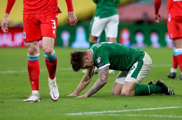 James Collins rues a missed chance