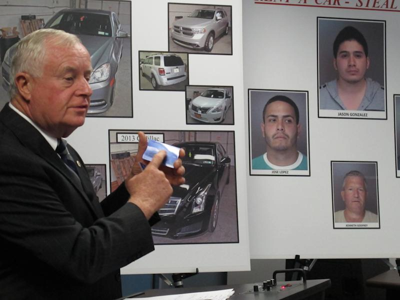 DA: Thieves rented cars, sold them for cheap
