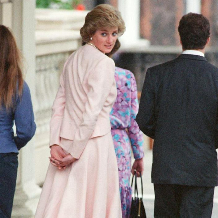 "<p>Diana would refer to the Queen's corgis as <a href=""https://www.usatoday.com/story/life/2017/08/23/princess-dianas-most-memorable-quotes/531261001/"" rel=""nofollow noopener"" target=""_blank"" data-ylk=""slk:a &quot;moving carpet,&quot;"" class=""link rapid-noclick-resp"">a ""moving carpet,""</a> because Her Majesty was always surrounded by a number of the small dogs.</p>"