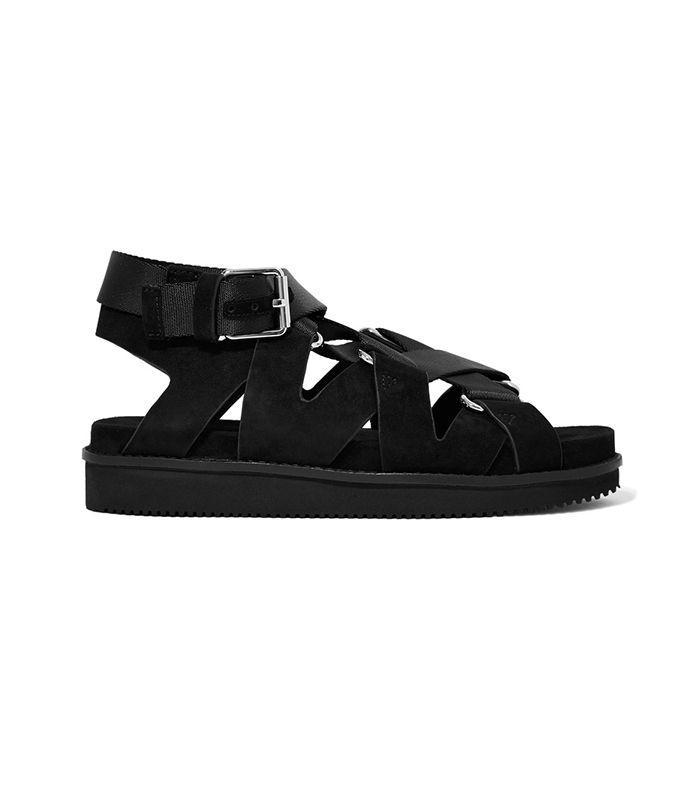Platform sandals are a smart choice for a music festival.