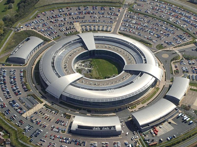 The GCHQ headquarters in Cheltenham, nicknamed 'The Doughnut': PA