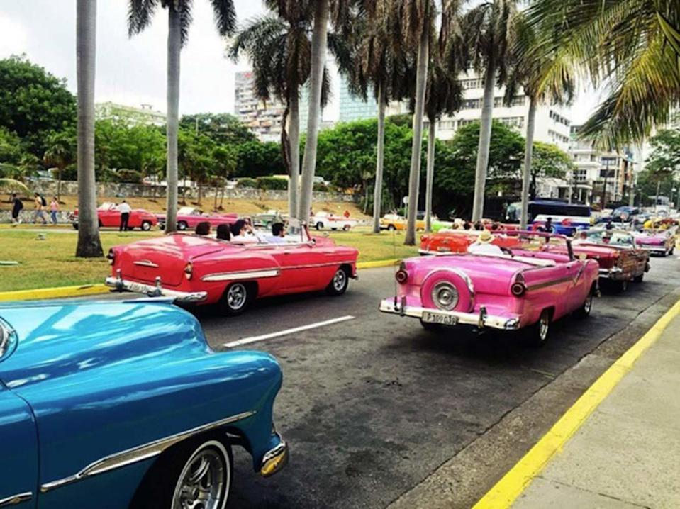 <p>Before the spectacle of the Cruise show even began the Chanel fun and games had only just started. The streets of Havana were a carnival themed riot of coloured chevrolets. Instagram was flooded for days. </p>