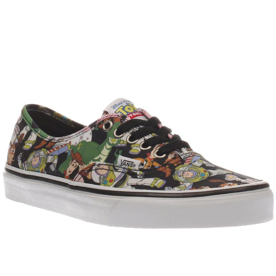 <p>Late last year Vans made all of our childhood dreams come true by putting Woody, Buzz and a whole host of their friends from the 1995 classes 'Toy Story' on their latest collection. We loved them to infinity and beyond. [Photo: Vans] </p>