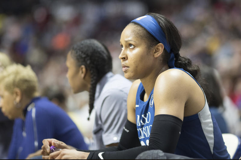 While it's a painful conversation, Maya Moore thinks that Drew Brees' comments on protesting during the national anthem and his multiple apologies are a very good thing