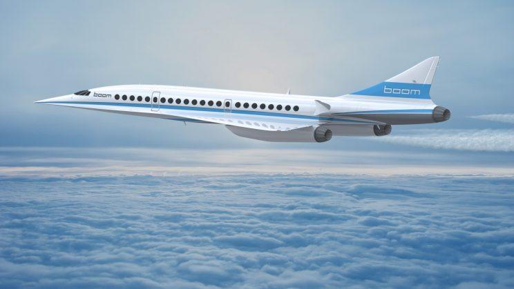 The sonic boom itself is inaudible and uneventful to passengers on board [Boom Technology]