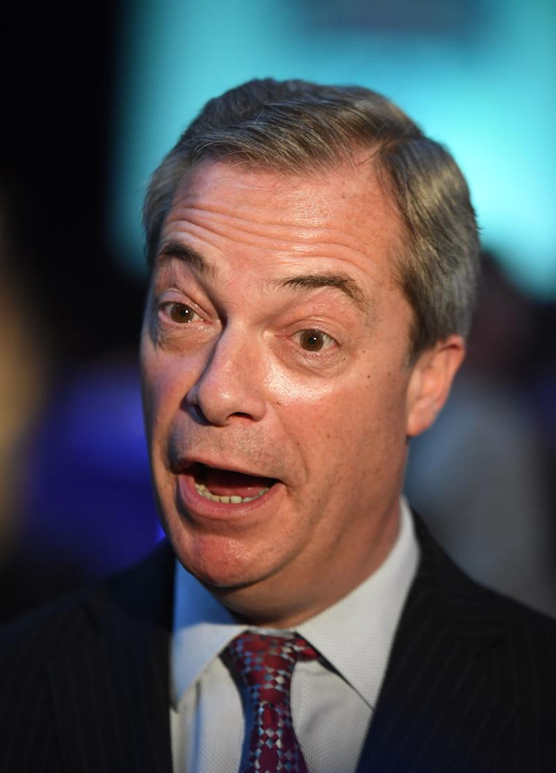 Nigel Farage has thrown his backing behind a controversial US candidate (Picture: PA)
