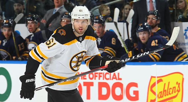 "The <a class=""link rapid-noclick-resp"" href=""/nhl/players/3153/"" data-ylk=""slk:Rick Nash"">Rick Nash</a> acquisition has made an excellent Bruins team more dangerous. (Getty Images)"