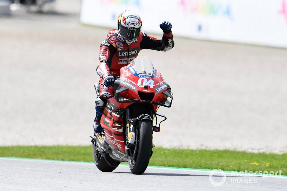 "#50 - Andrea Dovizioso - GP de Austria 2020<span class=""copyright"">Gold and Goose / Motorsport Images</span>"