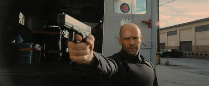 Jason Statham stars as H in director Guy Ritchie's WRATH OF MAN.