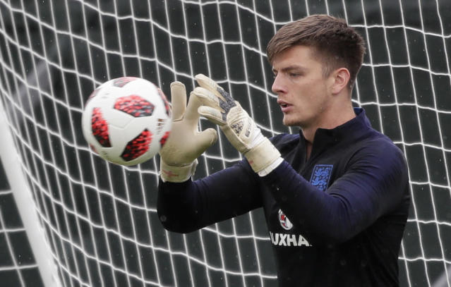 <p>That's Nick Pope of Burnley. </p>
