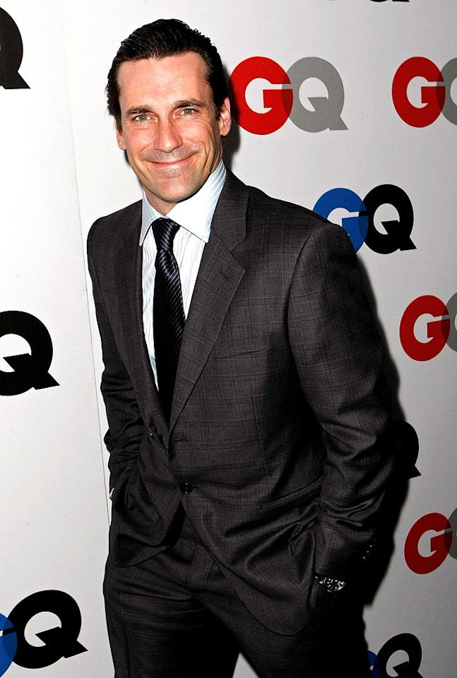 """Meanwhile, """"Mad Men's"""" Jon Hamm suited up for the occasion, where he took home the Breakout award. Michael Buckner/<a href=""""http://www.gettyimages.com/"""" target=""""new"""">GettyImages.com</a> - November 18, 2008"""