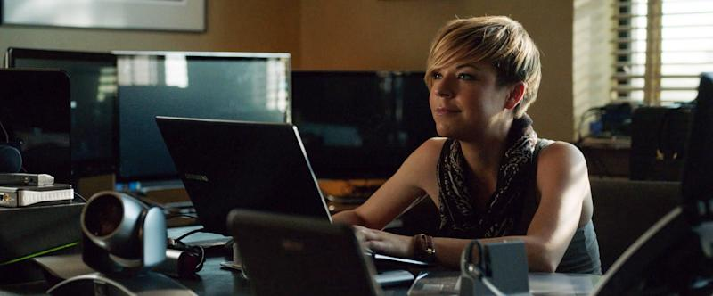 VERONICA MARS, Tina Majorino, 2014. ph: Robert Voets/Warner Bros. Pictures/courtesy Everett Collection