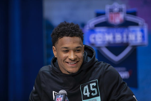 LSU S Grant Delpit is a highly regarded NFL draft prospect but with one area of his game that needs to be cleaned up. (Photo by Michael Hickey/Getty Images)
