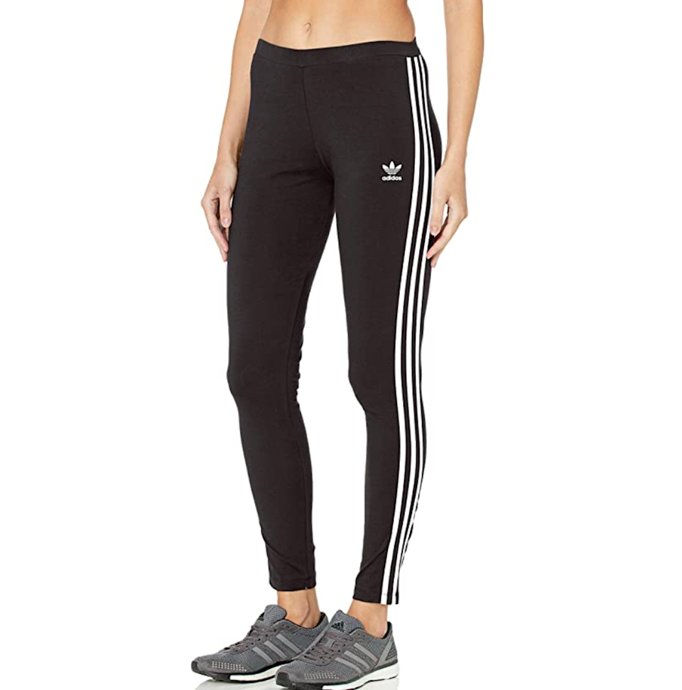 "<h3><a href=""https://amzn.to/2UWEgsL"" rel=""nofollow noopener"" target=""_blank"" data-ylk=""slk:Adidas Originals 3 Stripes Legging"" class=""link rapid-noclick-resp"">Adidas Originals 3 Stripes Legging</a></h3><br>With an average of 4.3 out of 5 stars and 3,725 reviews, the world of opinionated Amazon shoppers seems to be largely in agreement that these are a solid (yet soft!) purchase. <br><br><strong>Adidas Originals</strong> 3 Stripes Legging, $, available at <a href=""https://amzn.to/3c2RvO6"" rel=""nofollow noopener"" target=""_blank"" data-ylk=""slk:Amazon"" class=""link rapid-noclick-resp"">Amazon</a>"
