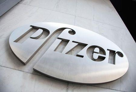 Pfizer books $11 billion tax gain