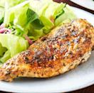 """<p>Golden and speckled with herbs on the outside, juicy and tender on the inside: Is this not everything you want for dinner? If you're busy running around the house doing other things, this is the perfect recipe to make tonight. With just 10 minutes of hands-on time, these chicken breasts practically cook themselves. </p><p>Get the <a href=""""https://www.delish.com/uk/cooking/recipes/a30724547/instant-pot-chicken-breasts-recipe/"""" rel=""""nofollow noopener"""" target=""""_blank"""" data-ylk=""""slk:Instant Pot Chicken Breast"""" class=""""link rapid-noclick-resp"""">Instant Pot Chicken Breast</a> recipe.</p>"""