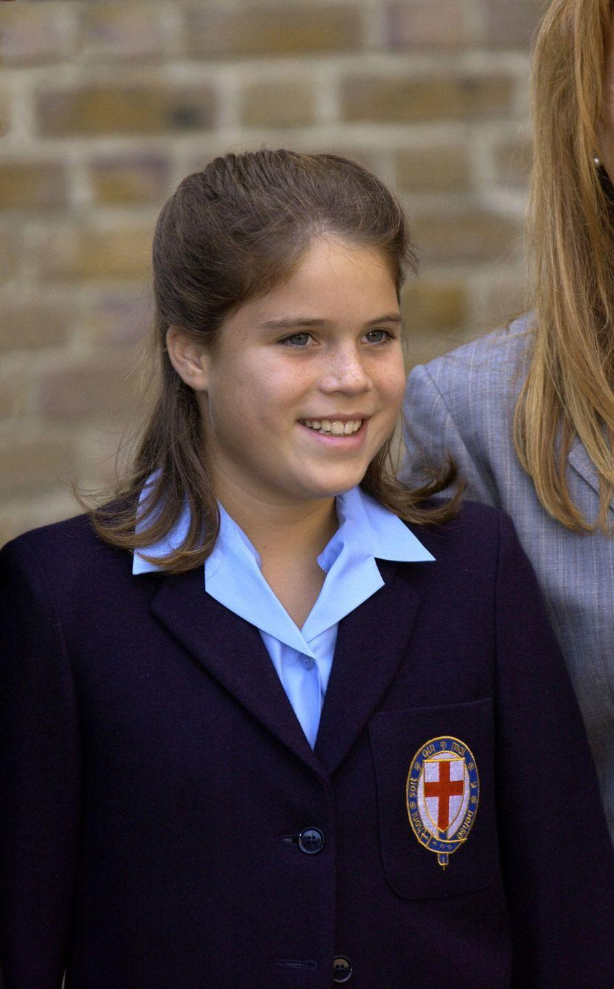 <p>Princess Eugenie started secondary school at St Georges in Windsor on September 6, 2001 - a year after her sister.</p>