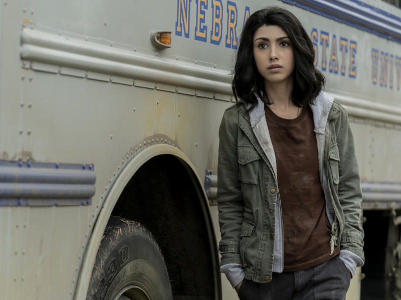 "Alexa Mansour als Hope in ""The Walking Dead: World Beyond"" (Bild: Zach Dilgard/AMC)"